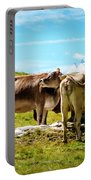 Happy Swiss Cows Portable Battery Charger