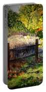 Sycamore Grove Fence 1 Portable Battery Charger