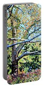 Sycamore Trees At The Zoo Portable Battery Charger