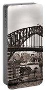 Sydney Harbor Bridge Platinum Portable Battery Charger