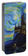 Syfy- Starry Night In Hogwarts Portable Battery Charger