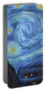Syfy- Starry Night In Mordor Portable Battery Charger