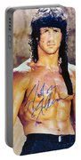 Sylvester Stallone Portable Battery Charger