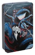 Symbiote Spider-man  Portable Battery Charger