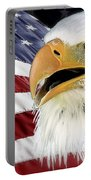 Symbol Of America Portable Battery Charger by Teresa Zieba