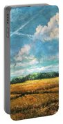 Symbols Of Hope And Eternity Portable Battery Charger