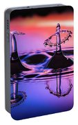 Synchronized Liquid Art Portable Battery Charger