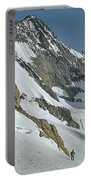 T-104406-b Fred Beckey Below Forbidden Peak Portable Battery Charger