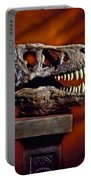 T Rex Skull Portable Battery Charger