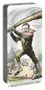 T. Roosevelt Cartoon, 1904 Portable Battery Charger