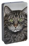 Tabby-lil' Bit Portable Battery Charger by Megan Cohen