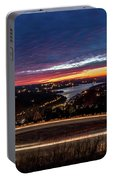 Table Rock Lake Night Shot Portable Battery Charger