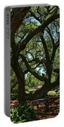 Table Under The Oak Tree Portable Battery Charger