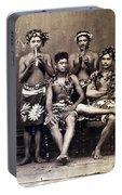 Tahiti: Men, C1890 Portable Battery Charger