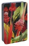 Tahiti Red Portable Battery Charger
