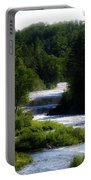 Tahquamenon Lower Falls Upper Peninsula Michigan 12 Portable Battery Charger