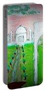 Taj Mahal Noon Portable Battery Charger