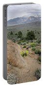 Take Me To The Mountains Portable Battery Charger by Margaret Pitcher
