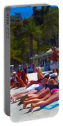 Taking In The Sun Portable Battery Charger