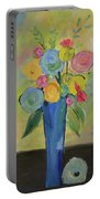 Tall Floral Order Portable Battery Charger
