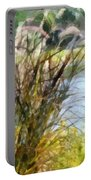 Tall Grasses Portable Battery Charger
