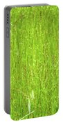 Tall Grassy Meadow Portable Battery Charger