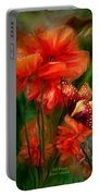 Tall Poppies Portable Battery Charger