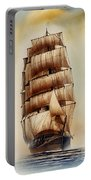 Tall Ship Carradale Portable Battery Charger
