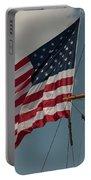 Tall Ship Flag I Portable Battery Charger