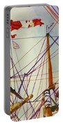 Tall Ship Lines Portable Battery Charger