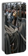 Tall Ship Lines V Portable Battery Charger