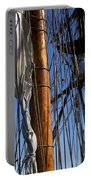 Tall Ship Rigging Lady Washington Portable Battery Charger