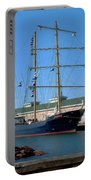 Tall Ship Waiting Portable Battery Charger