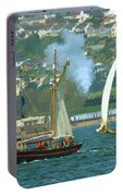 Tall Ships And Steam Trains Portable Battery Charger