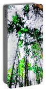 Tall Trees To The Sky Portable Battery Charger
