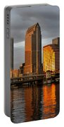 Tampa In Reflection Portable Battery Charger
