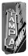 Tampa Theatre Bw Portable Battery Charger