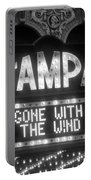 Tampa Theatre Gone With The Wind Portable Battery Charger