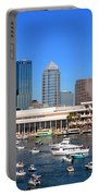 Tampa's Day Panoramic Portable Battery Charger