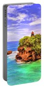 Tanah Lot Temple Bali Portable Battery Charger