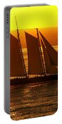 Tangerine Sails Portable Battery Charger
