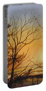Tangerine Sky Portable Battery Charger