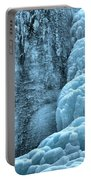 Tangle Falls Frozen In Blue Portable Battery Charger