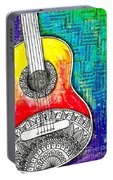 Tangle Guitar No 4 Portable Battery Charger