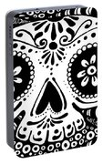 Tangled Skull Portable Battery Charger
