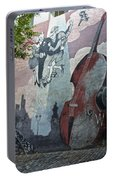 Tango And The Double Bass Portable Battery Charger