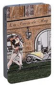 Tango Dancers In The Street Portable Battery Charger