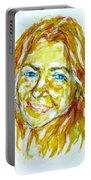 Tania Helft, Portrait Portable Battery Charger