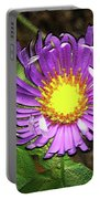 Tansyleaf Aster Portable Battery Charger