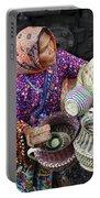 Tarahumara Basket Vendor Portable Battery Charger